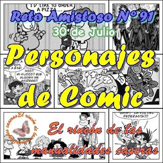 Reto Amistoso nº91 Personajes de Comic