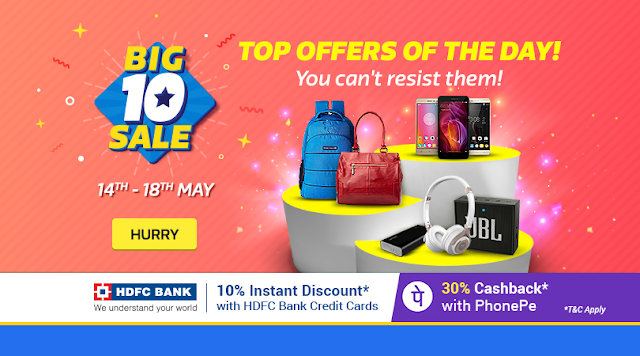 Big10 Sale [Day3]: Get 30% Cashback on payments with PhonePe | Google Pixel from ₹ 34,999* | With Exchange & upto 80% Off on Electronics!