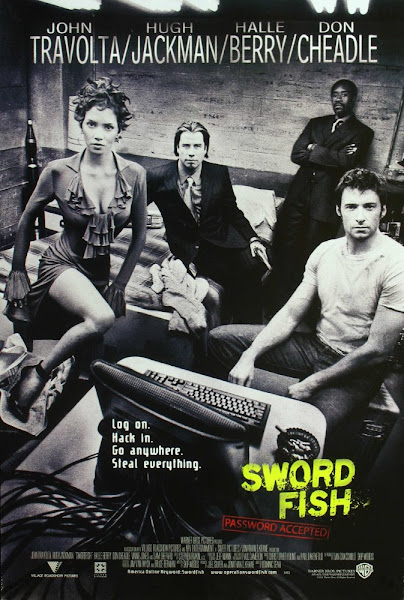 Poster of Swordfish 2001 Dual Audio 720p BluRay With ESubs Download