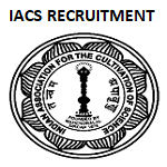 IACS West Bengal Non Faculty Recruitment 2019
