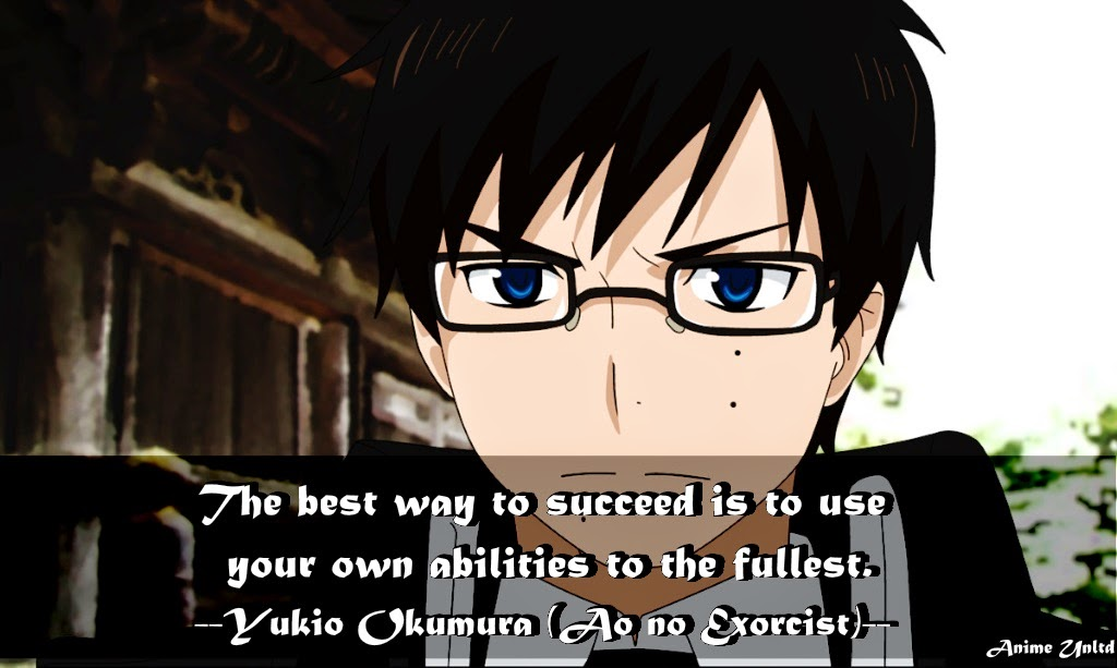 Anime Quotes Success Comes From Doing Your Best