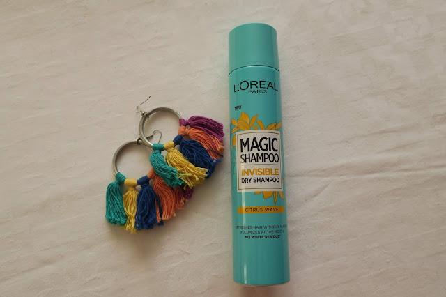 L´Oreal suchý šampón Magic Shampoo Invisible Citrus Wave