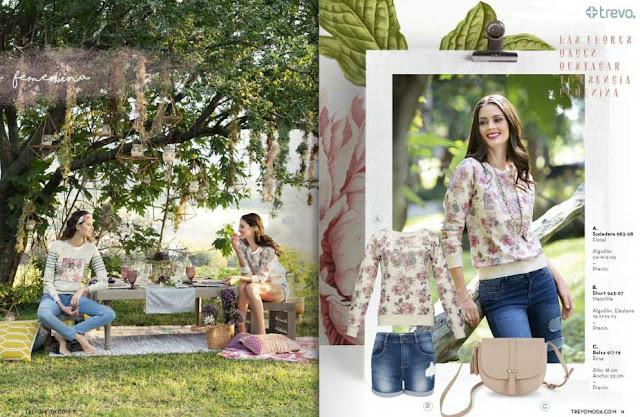 ropa primavera verano 2017 trevo