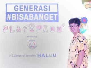 Generasi #BisaBanget Playspace Bear Brand