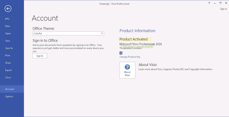 Microsoft Visio Professional 2016 Full
