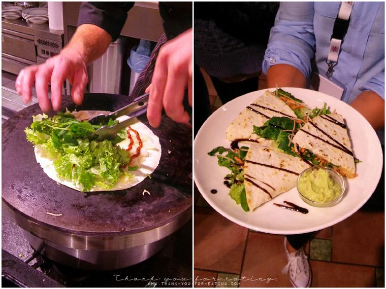 Die Piadinas im Leonhard's werden auf Wunsch auch vegetarisch zubereitet.