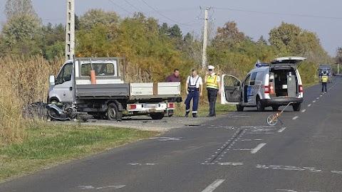 Halálos baleset történt Szatymaz közelében