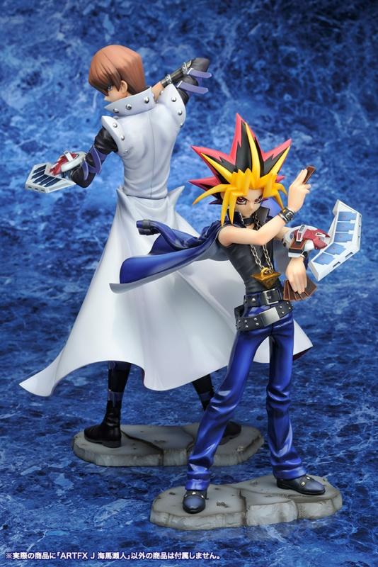 """Figuras: Relanzamiento de los ARTFX J de Kaiba Seto y Dark Yugi de """"Yu-Gi-Oh!"""" - Kotobukiya"""