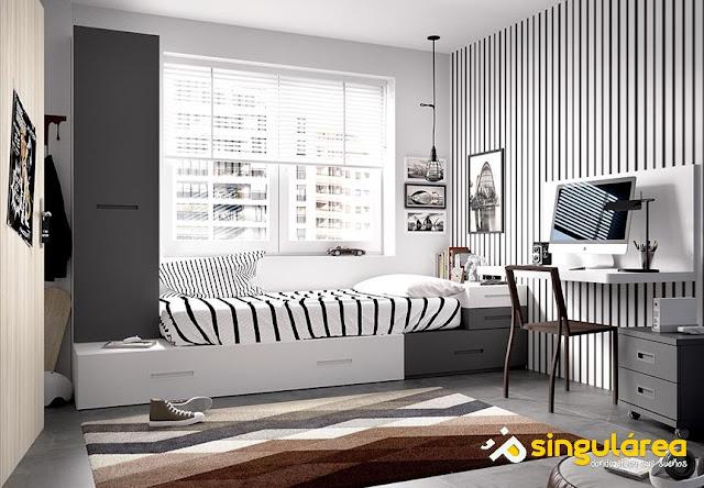 Blog dormitorios juveniles com dormitorios juveniles con camas cubo - Habitaciones juveniles originales ...