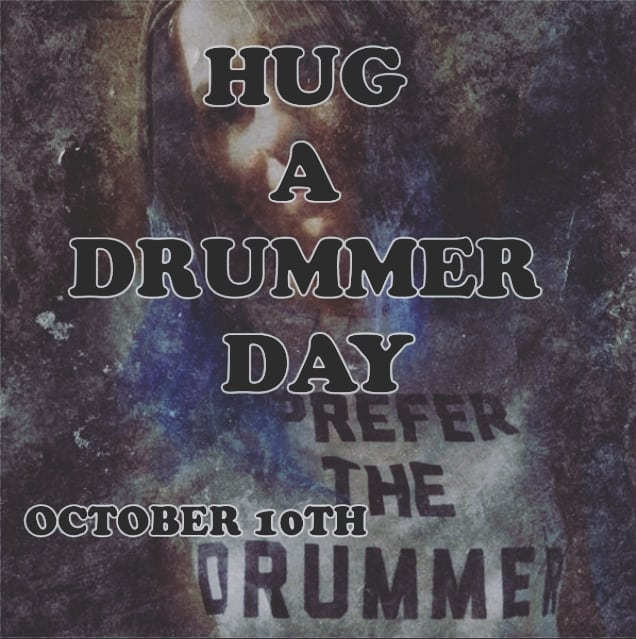 National Hug a Drummer Day Wishes for Whatsapp