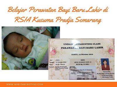 Belajar Perawatan Bayi Baru Lahir di RSIA Kusuma Pradja