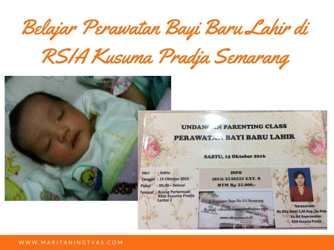 Belajar Perawatan Bayi Baru Lahir di RSIA Kusuma Pradja Semarang
