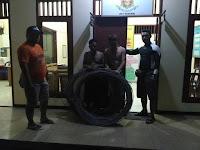 Tim Opsnal Polsek Ampenan Tangkap Terduga Pencuri Kabel PLN