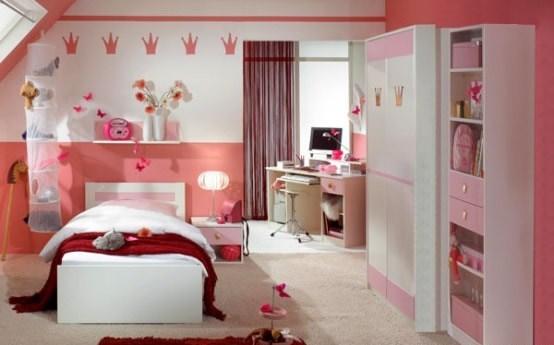 habitacin muebles rosa nia - Muebles Nina