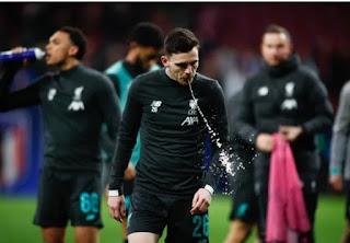روبرتسون ينتقد لاعبي أتليتكو بسبب السقوط مع خسارة ليفربول في مدريد