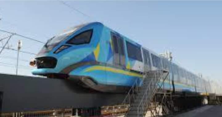 جيل جديد من القطارات الصينية أحادية القضبان