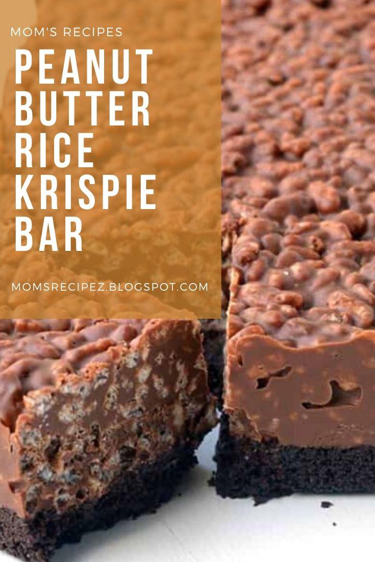 Peanut Butter Rice Krispie Bar