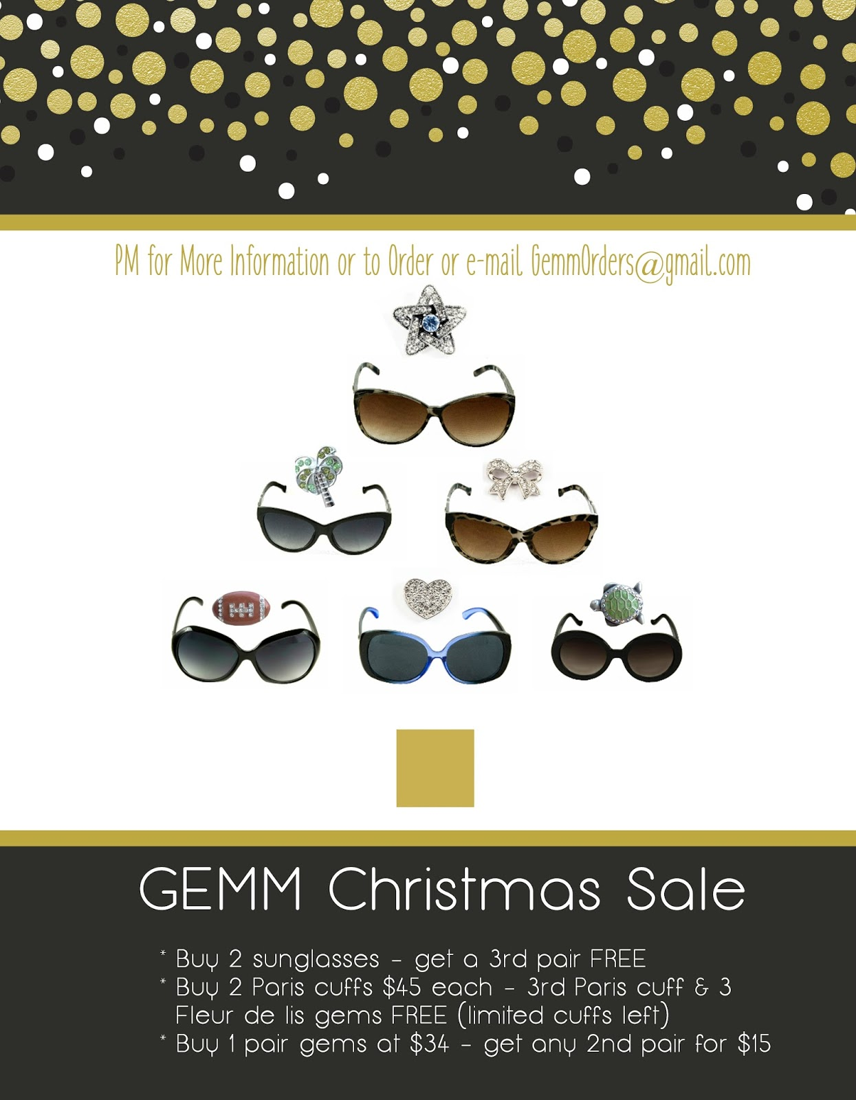 17855ef05ed Embracing a Healthy Family  GEMMglam Christmas Sale  Sunglasses and ...