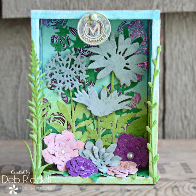 Floral Memories Altered Vignette Box