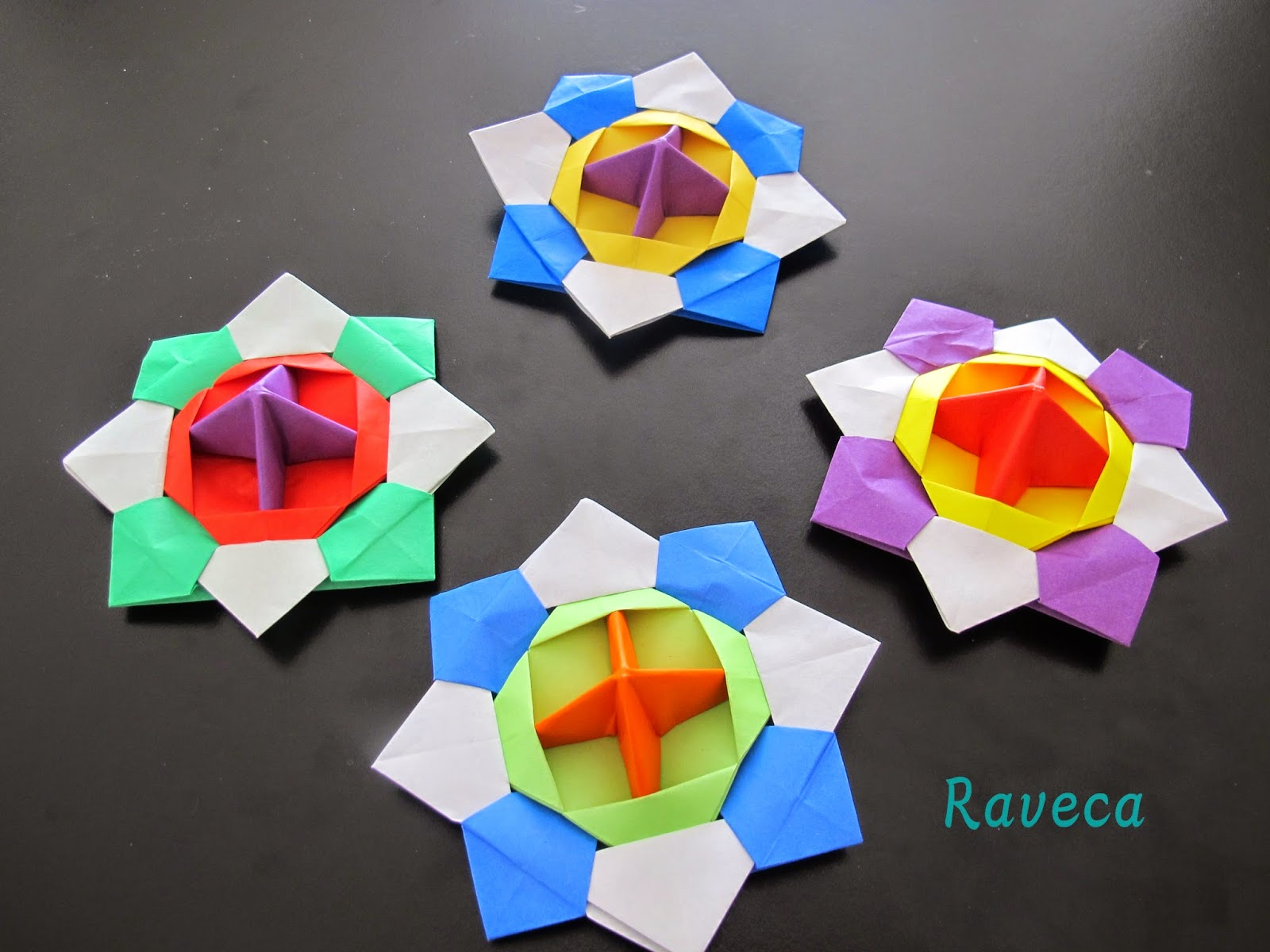 Origami Maniacs: Origami Spinning Tops - photo#1