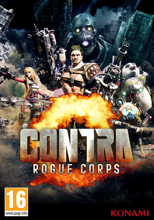 Descargar Contra Rogue Corps PC Cover Caratula
