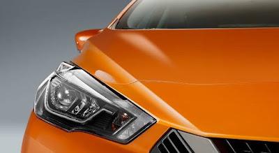 Nissan Micra 2017 Headlight image