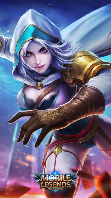 Wallpaper Natalia Bright Claw Old Skin Mobile Legends for Android and iOS