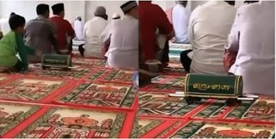 Unik, Kotak Amal Masjid Berbentuk Keranda, Netizen: Ingatkan Tabungan Akhirat