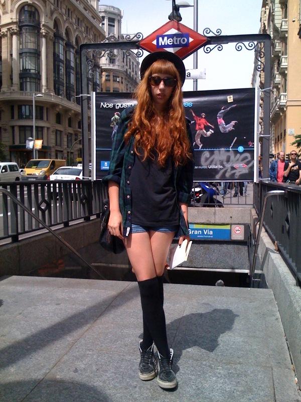 Street Style Madrid Fashion Salad Comparte Mi Moda