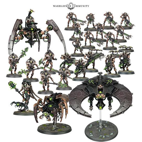 Necrons – Eradication Legion