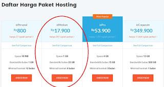 paket hosting di idwebhost