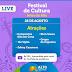 """Com transmissão pelo youtube, Alto do Rodrigues apresentará Festival de Cultura """"Artes do Alto"""""""