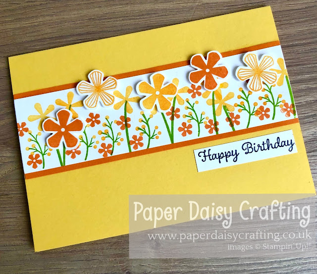 Thoughful Blooms Small Bloom punch Stampin Up