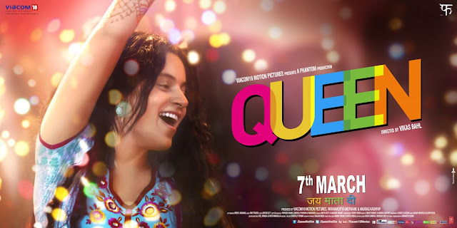 Queen by Vikas Bahl with Kangana Ranaut