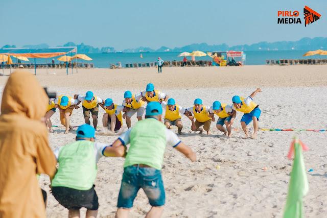 Ngày hội Team Building của Hòa Bình Group Tại Quảng Ninh thực hiện bởi Pirlo Media