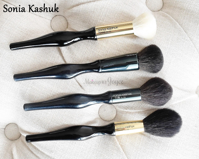 Sonia Kashuk Tapered Powder No.19 Domed Multi-Purpose No.18 2016 Brush Collection Review