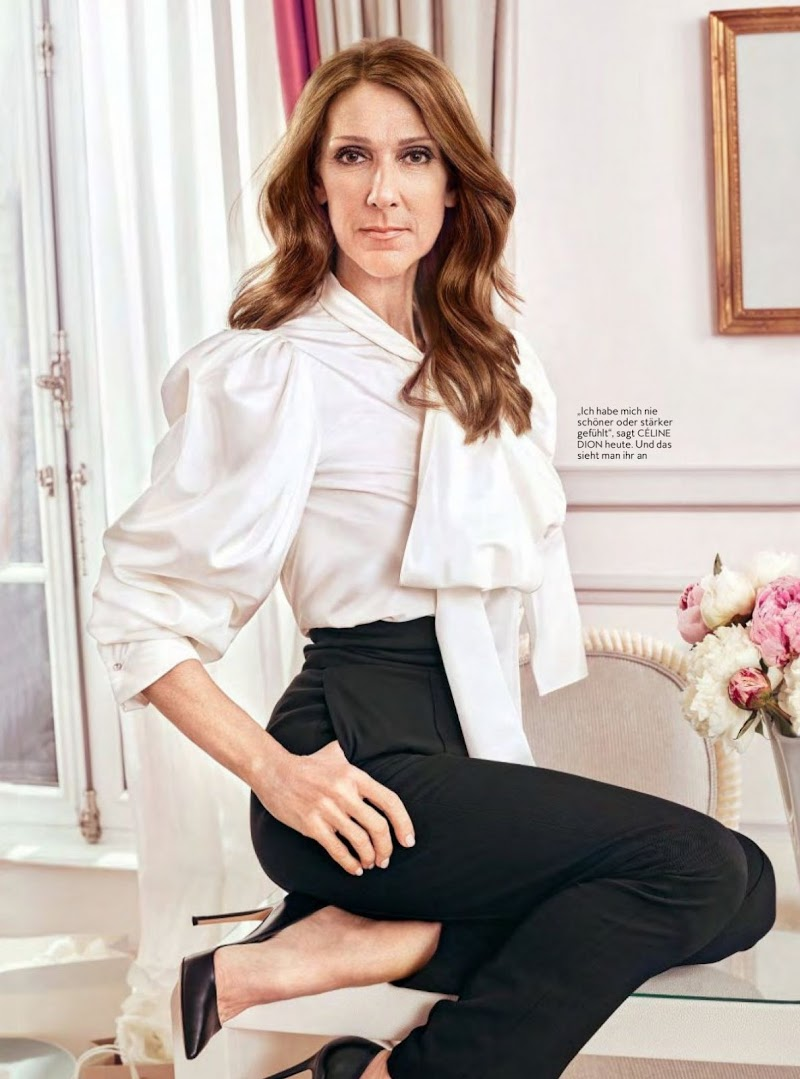 Celine Dion Featured  in Instyle Magazine, Germany June 2020