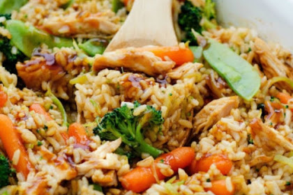 TERIYAKI CHICKEN CASSEROLE RECIPE
