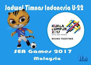 Jadwal Timnas Indonesia U-22 di SEA Games 2017