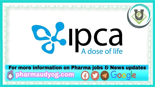 IPCA Labs | Walk-In interview for QC at Ankleshwar on 18th Mar 2021