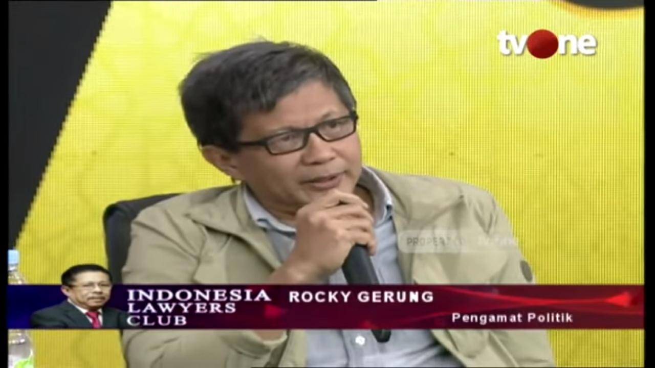 Bukan 01, Jawaban Rocky Soal Pemenang Pemilu Mengejutkan