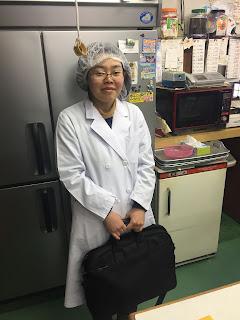 村山保健所の食品衛生検査2019.12.03