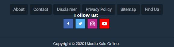 Follow Buttons website dan blogger