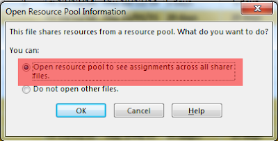 Resource Pool MS Project
