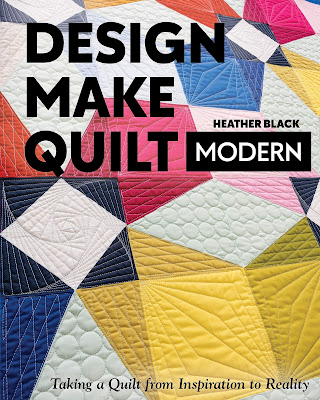 Design Make Quilt book by Heather Black