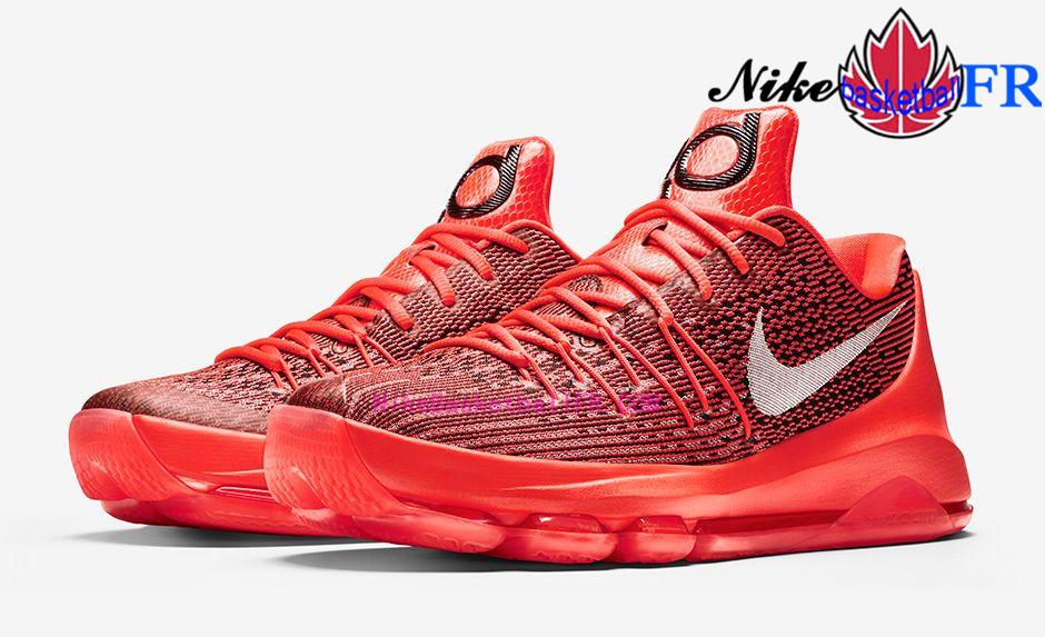 Nike KD8  V-8  Rouge Nike Basket Chaussure Pas Cher 749375-610 -  www.NikeBasketballFr.com 0a00e8c13515