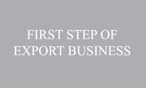 First step to start international export business