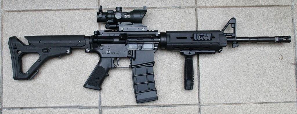 15 Senjata PUBG Dan Free Fire Di Dunia Nyata