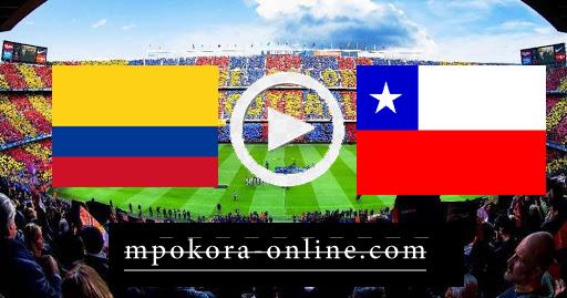 مشاهدة مباراة تشيلي وكولمبيا بث مباشر كورة اون لاين 14-10-2020 تصفيات كأس العالم: أمريكا الجنوبية