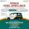 Donasi Mobil Ambulans Untuk Dhuafa
